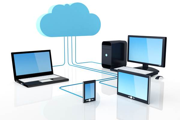 Ilustrasi komputasi awan - Istimewa