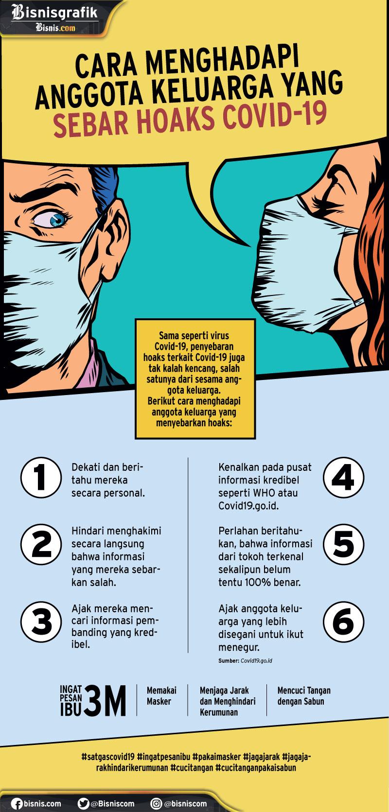 Infografik tangkal hoaks soal covid-19 - Petricia Cahya Pratiwi