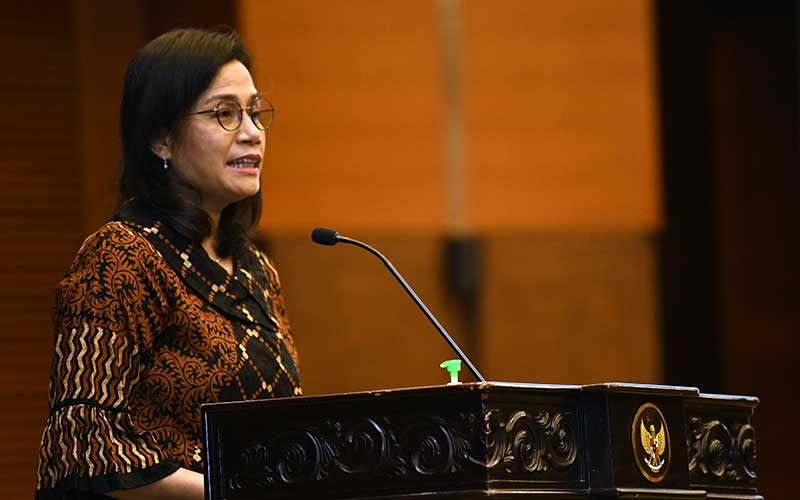 Menteri Keuangan Sri Mulyani - Bisnis