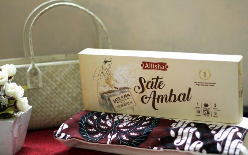 Allisha Sate Ambal menjadi Juara pertama UKM Pangan Award Tingkat Nasional kategori produk unggulan khas daerah dan maju mewakili Indonesia di tingkat Asean.  - Ristek