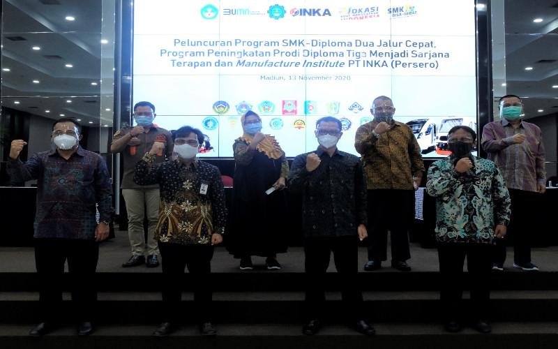 Peluncuran INKA Manufacture Institute.  - INKA