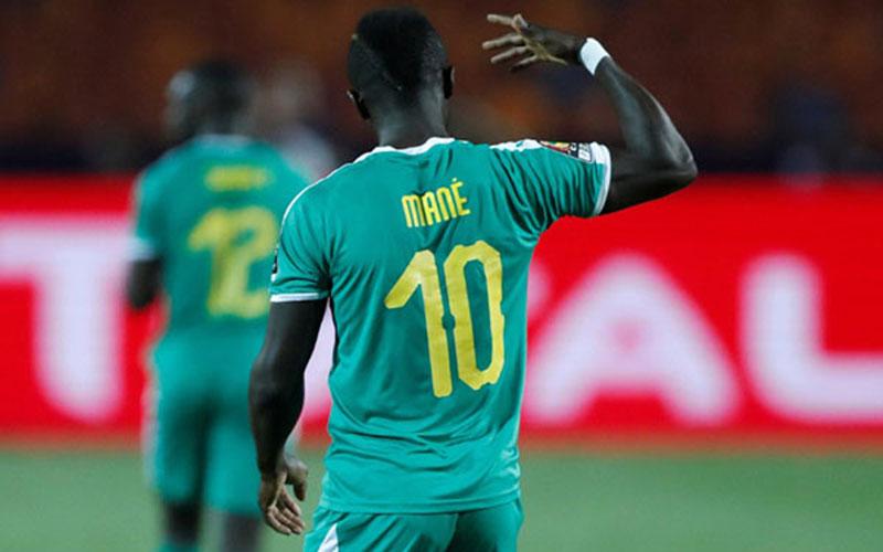 Penyerang Timnas Senegal Sadio Mane./Reuters - Amr Abdallah Dalsh
