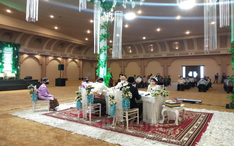 Ilustrasi pernikahan. - JIBI/Lajeng Padmaratri.