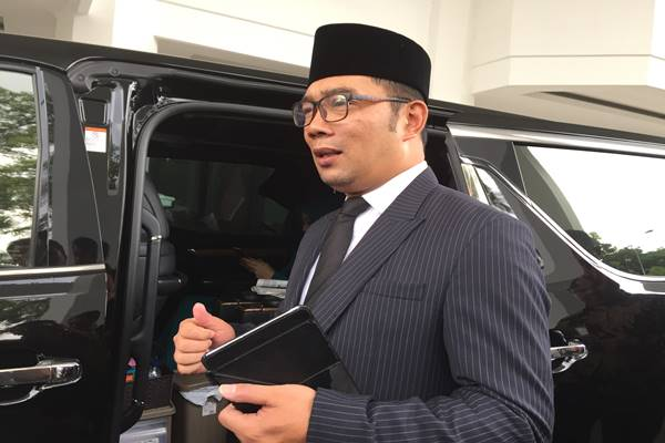 Gubernur Jawa Barat Ridwan Kamil. JIBI - BISNIS/Wisny Wage