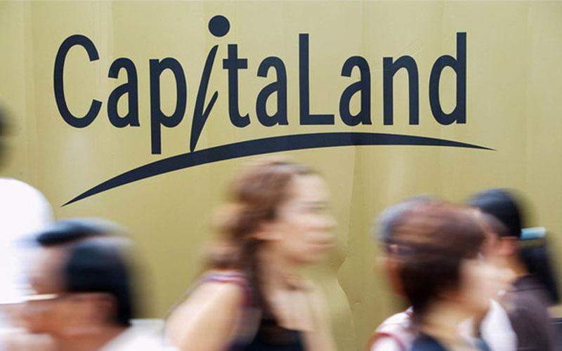 Logo CapitaLand  -  Bloomberg