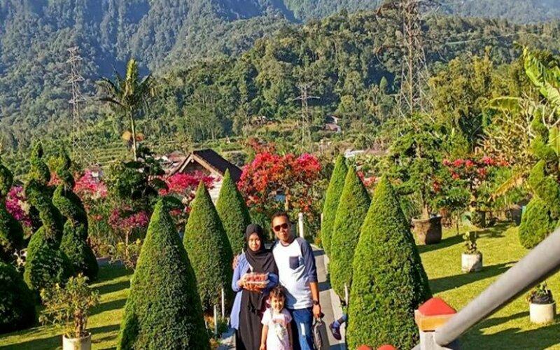 Kawasan Strawberry Corps yang berada di desa Pancasari, Sukasada, Buleleng.
