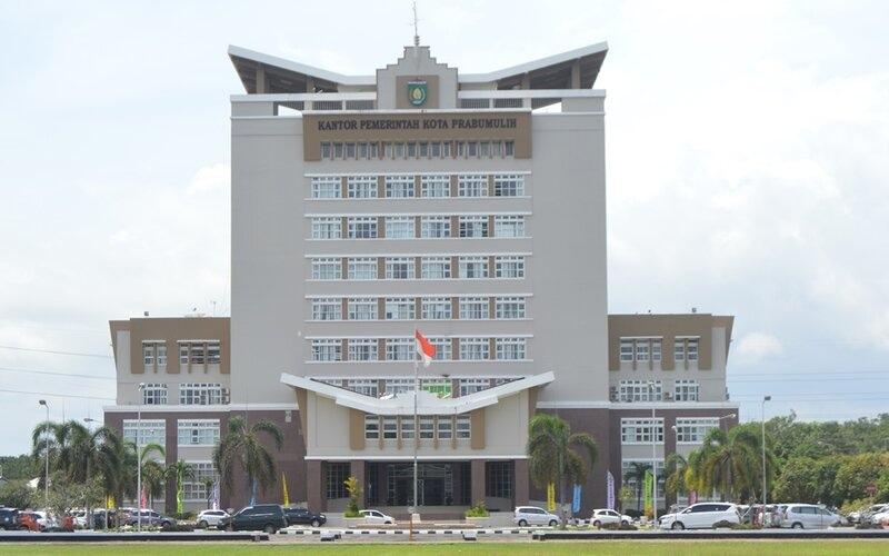 Kantor Pemerintahan Kota Prabumulih.