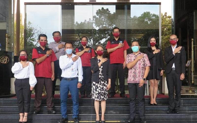 Jajaran manajemen Belviu Hotel Bandung - Istimewa