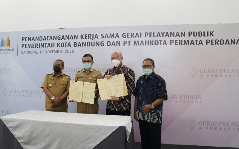 Pemkot Bandung Hadirkan Gerai Pelayanan Publik di Summarecon Bandung    - Istimewa