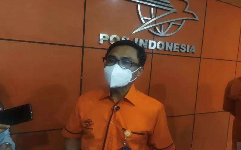 Dirut PT Pos Indonesia, Faisal R Djoemadi.  - ANTARA