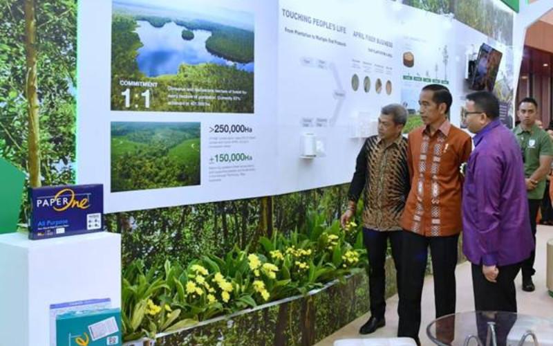Asia Pacific Resources International Holdings Limited, atau APRIL, adalah pengembang perkebunan serat dan pemilik salah satu pabrik pulp dan kertas terbesar di dunia yang beroperasi terutama di Indonesia dan China. APRIL