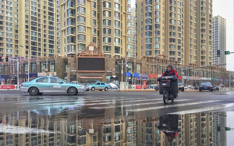 Residensial vertikal di Tianjin, China. - Bloomberg