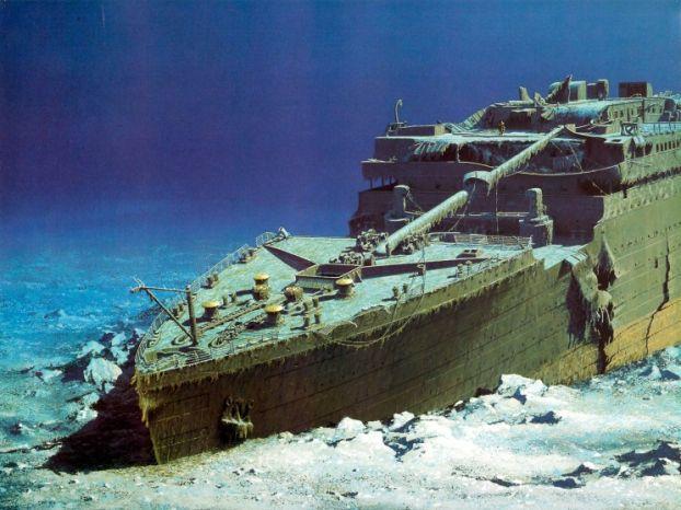 Puing/puing kapal Titanic