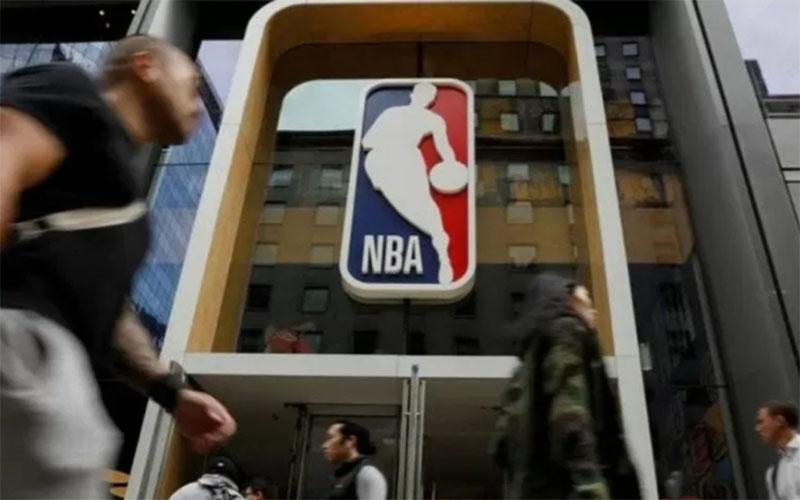 NBA Store di New York, AS./Antara - Reuters