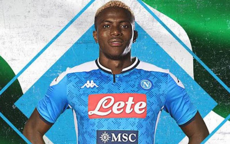 Pemain depan Napoli Victor Osimhen. - Marca