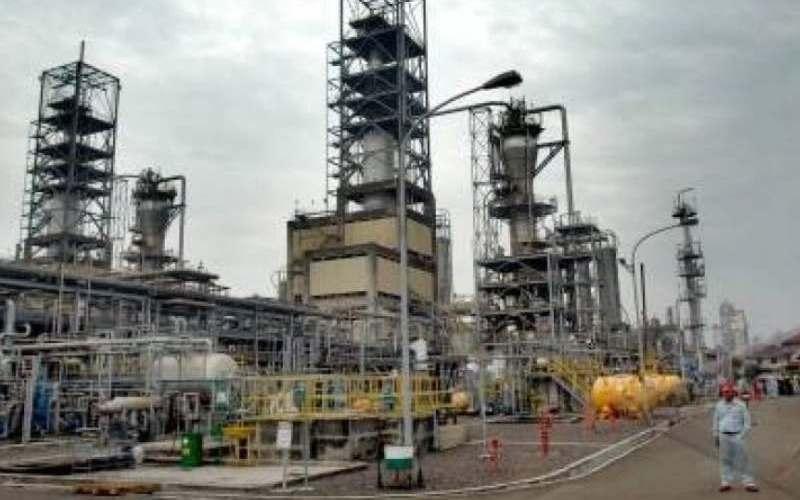 Ilustrasi / salah satu industri kimia di Provinsi Banten