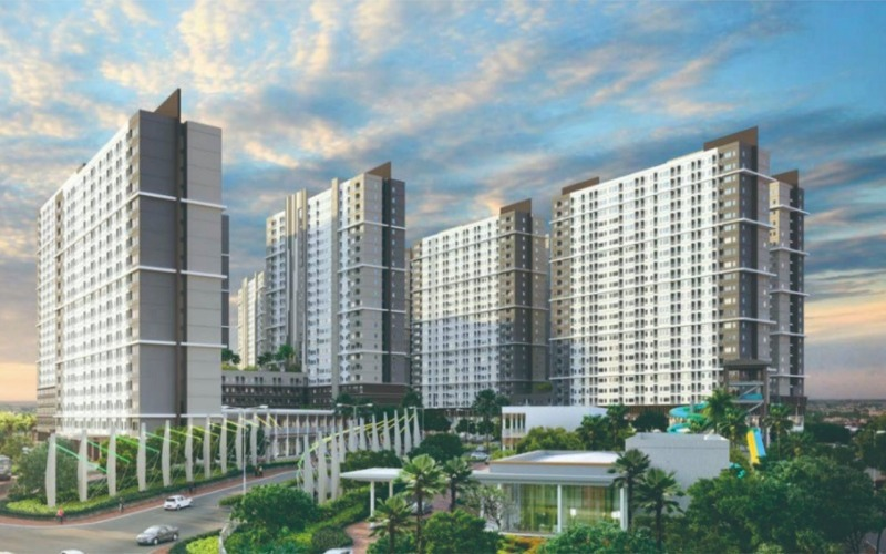 Proyek apartemen Citra Landmark Ciracas yang dibangun Ciputra Group. - Istimewa