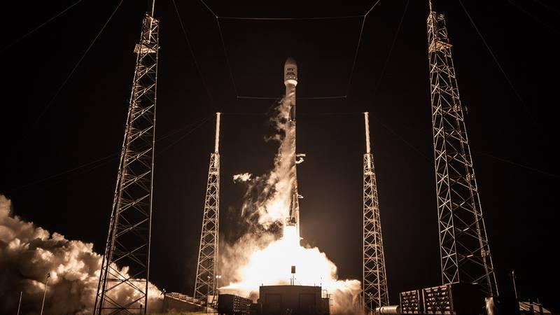 Ilustrasi peluncuran satelit. - dok. teleglobal