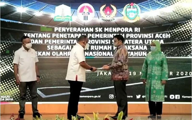 Menpora Tetapkan PON 2024 Dilaksanakan di Sumut dan Aceh - Antara