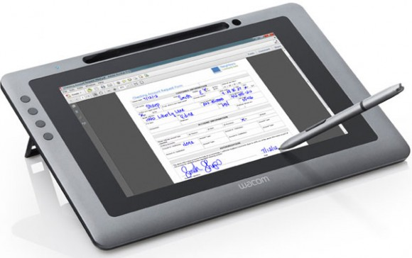 Ilustrasi tanda tangan digital