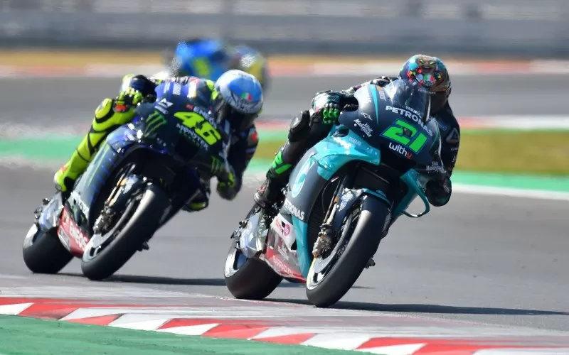 Valentino Rossi dan Franco Morbidelli - Antara