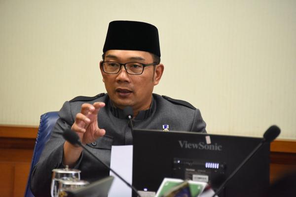 Gubernur Jawa Barat Ridwan Kamil. - Bisnis/Wisnu Wage Pamungkas