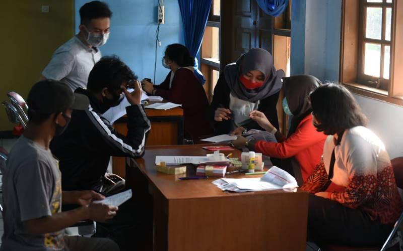 Pencairan kompensasi Resettlement Action Plan (RAP) proyek Jakarta International Stadium (JIS) bagi warga Kampung, di Kelurahan Papanggo, Tanjung Priuk, Jakarta Utara, Kamis (19/11/2020). -  PT Jakarta Propertindo (Perseroda)