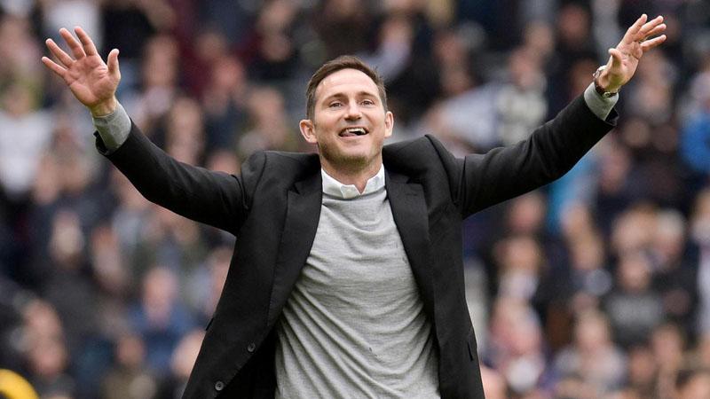 Pelatih Chelsea Frank Lampard - Reuters