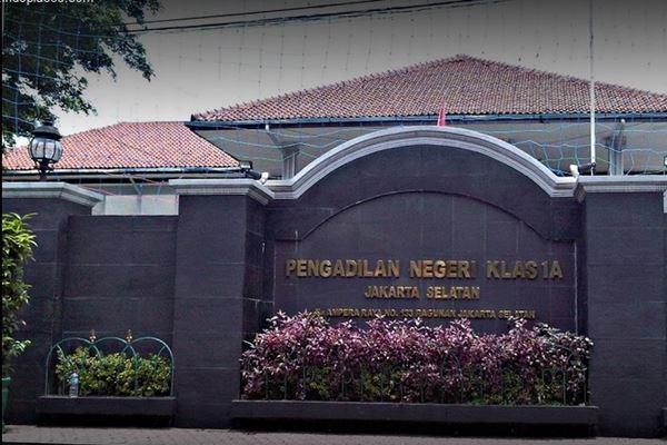 Pengadilan Negeri Jakarta Selatan. - Istimewa