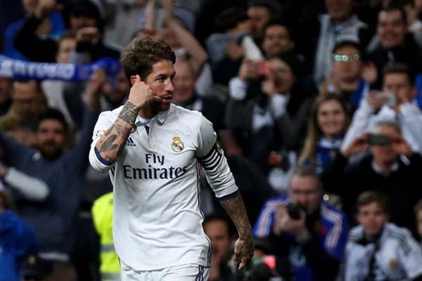 Bek Real Madrid Sergio Ramos/Reuters - Sergio Perez