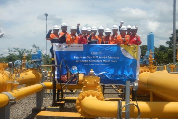 Ilustrasi: PGN dapat pasokan gas bumi tambahan dari PHE Jambi Merang.  - Istimewa