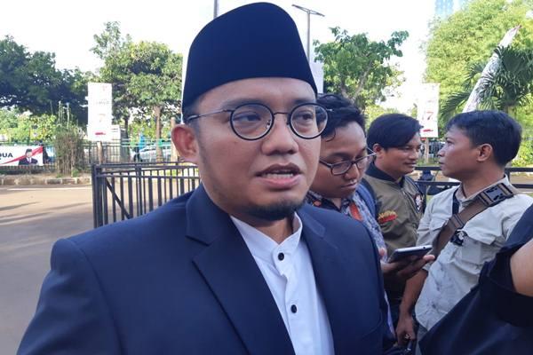 Koordinator Juru Bicara Prabowo-Sandi Dahnil Anzar Simanjuntak. JIBI/Bisnis - Jaffry Prabu Prakoso