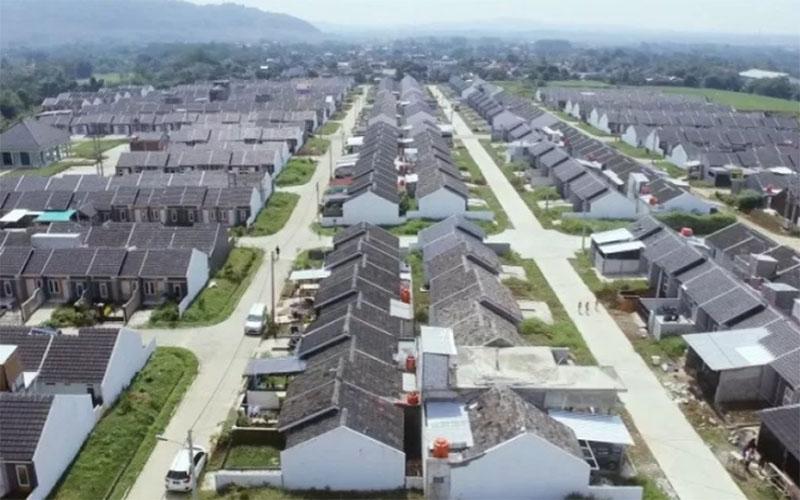Ilustrasi perumahan bersubsidi  -  Kementerian PUPR