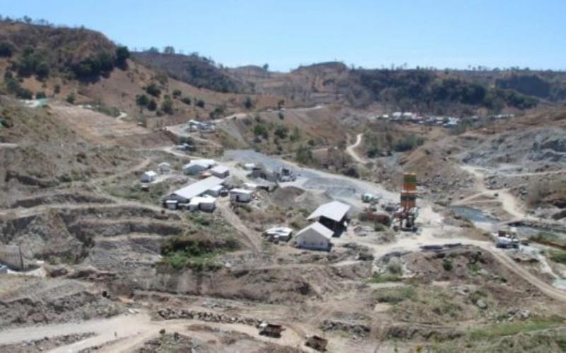 Pembangunan Bendungan Karolloe di Sulawesi Selatan.  - Kementerian PUPR