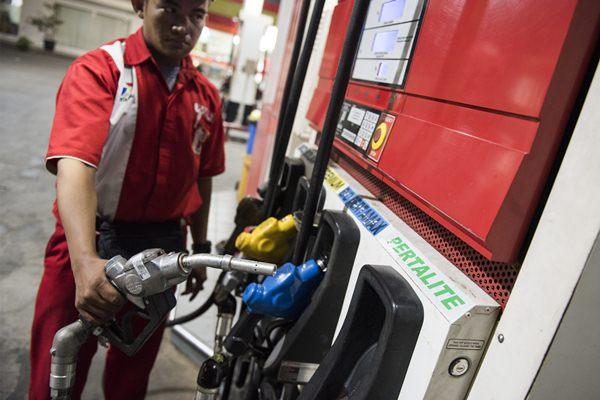 Pertalite, produk bensin baru dari Pertamina - Antara/M. Agung Rajasa