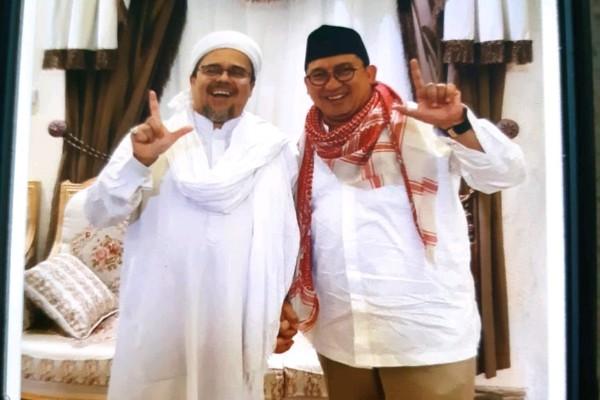 Rizieq Syihab dan Fadli Zon - twitter