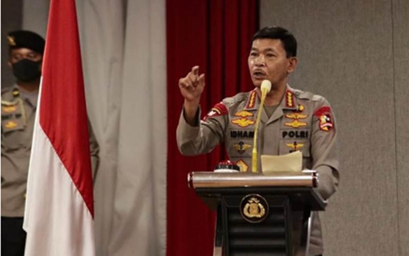 Kapolri Jenderal Pol. Idham Azis - Antara/HO/Polri