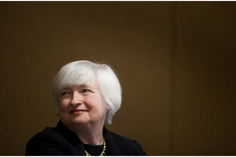 Mantan Gubernur The Fed Janet Yellen  -  Business Week