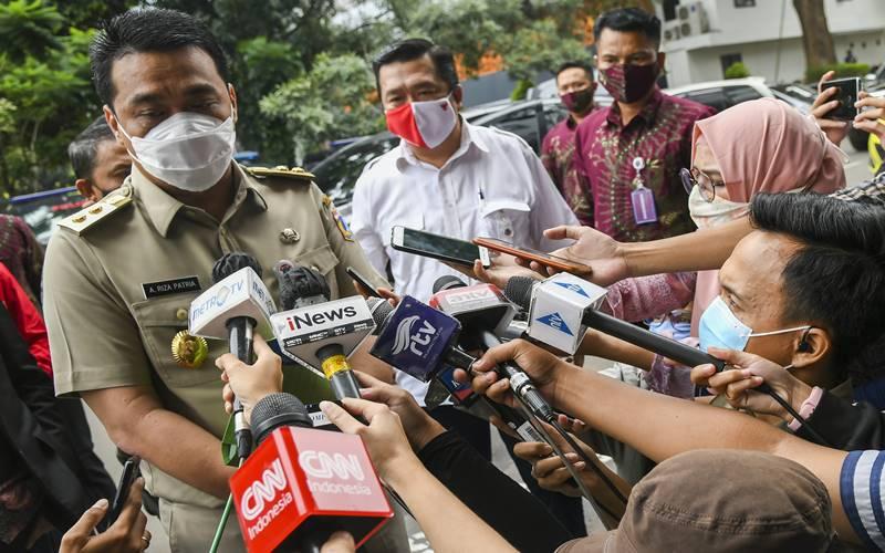 Wakil Gubernur DKI Jakarta Ahmad Riza Patria - Antara