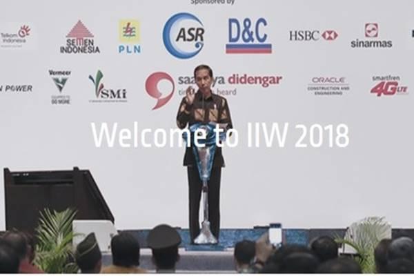 Indonesia Infrastructure Week (IIW) 2018 - Istimewa