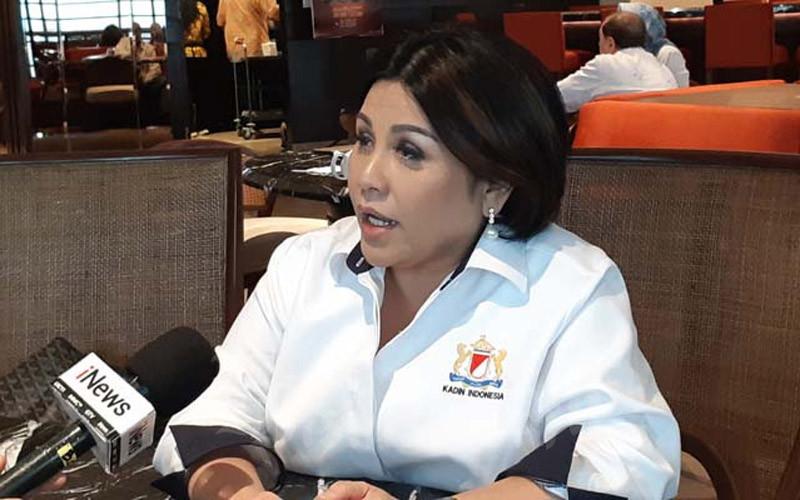 Wakil Ketua Kadin Bidang Perhubungan Carmelita Hartoto saat ditemui di Menara Kadin, Selasa (18/2/2020). - BISNIS/Rinaldi M. Azka