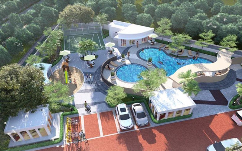 Salah satu proyek properti Paramount di Gading Serpong, Tangerang, Banten. - Istimewa