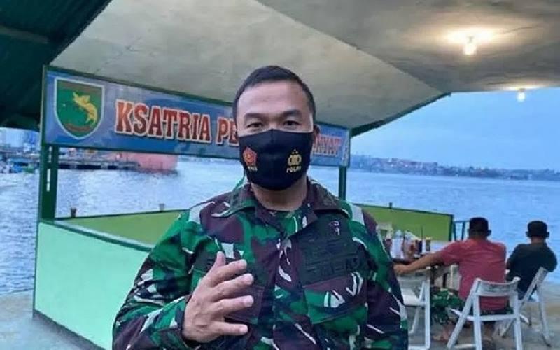 Kapendam XVII/Cenderawasih Letkol Arm Reza Nur Patria. - Antara\r\n