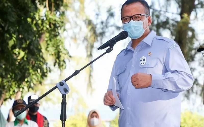 Menteri Kelautan dan Perikanan Edhy Prabowo. - Antara