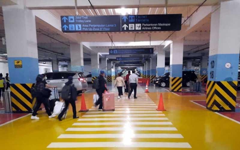Suasana penangkapan Menteri Kelautan dan Perikanan Edhy Prabowo di Bandara Soekarno Hatta, Tangerang, Banten, Rabu (25/1 - 2020) dini hari. Istemewa