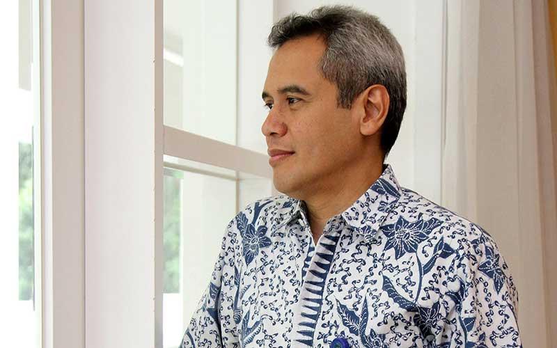 Presiden Direktur Mandiri Capital Indonesia Eddi Danusaputro. Bisnis - Arief Hermawan P