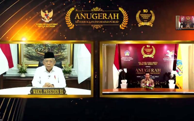 Pemprov Bali Raih Klasifikasi Informatif Keterbukaan Informasi Publik