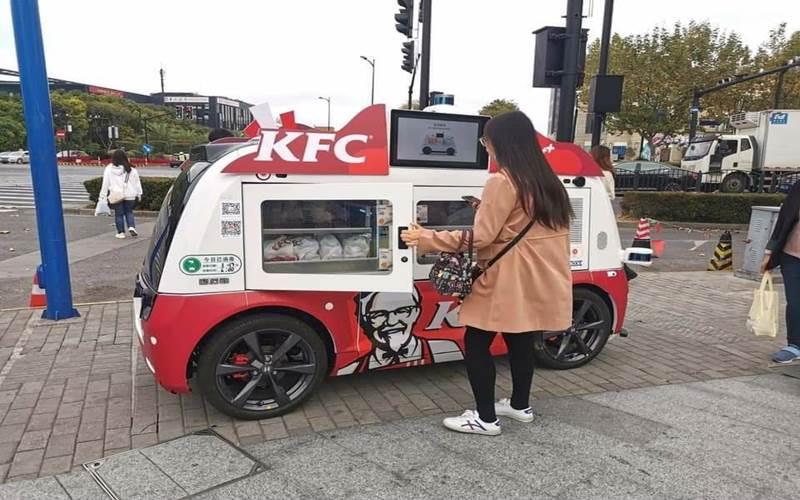Mobil otonom KFC