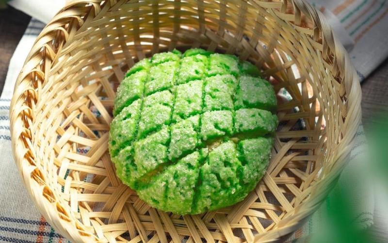 Melonpan sebuah kudapan berupa roti khas dan paling digemari di Jepang. - Istimewa