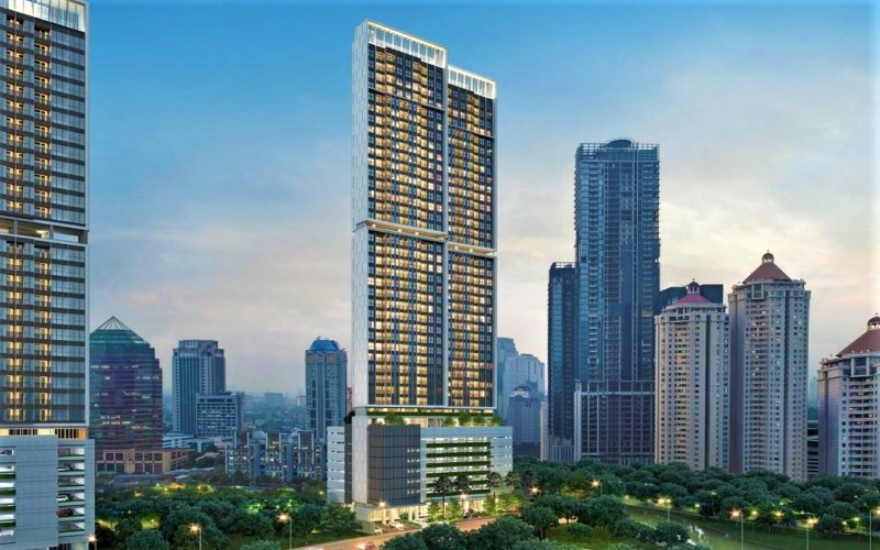 Proyek apartemen The Newton yang dikembangkan Ciputra Group di kawasan Ciputra World 2 Jakarta Jalan Satrio, Jakarta. - Istimewa